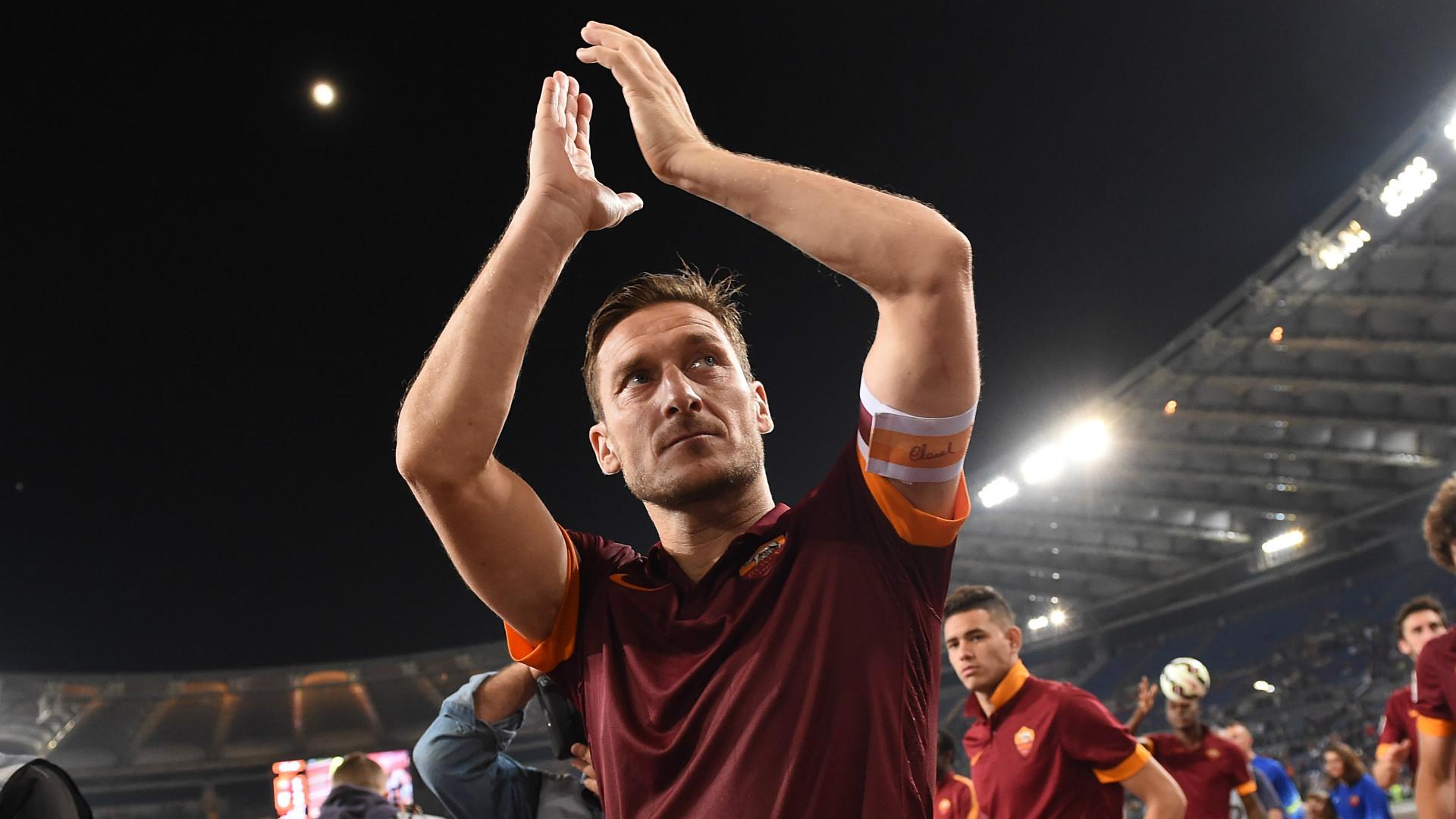 Twenty-five seasons, 307 goals, one incredible legacy – the numbers behind Totti's remarkable career