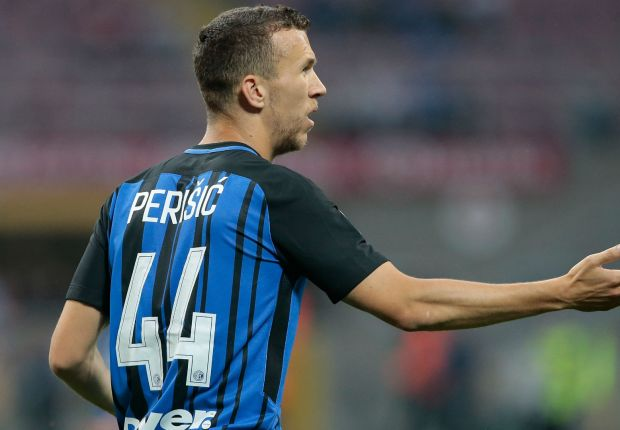 Ivan Perisic playing for Inter