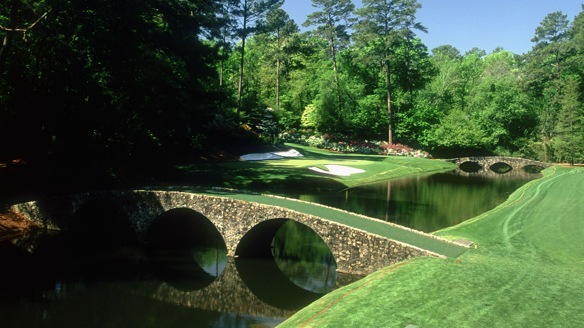 Image result for amen corner augusta