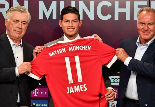 'The door to Real Madrid is still open' - James welcomes return to La Liga despite Bayern Munich transfer