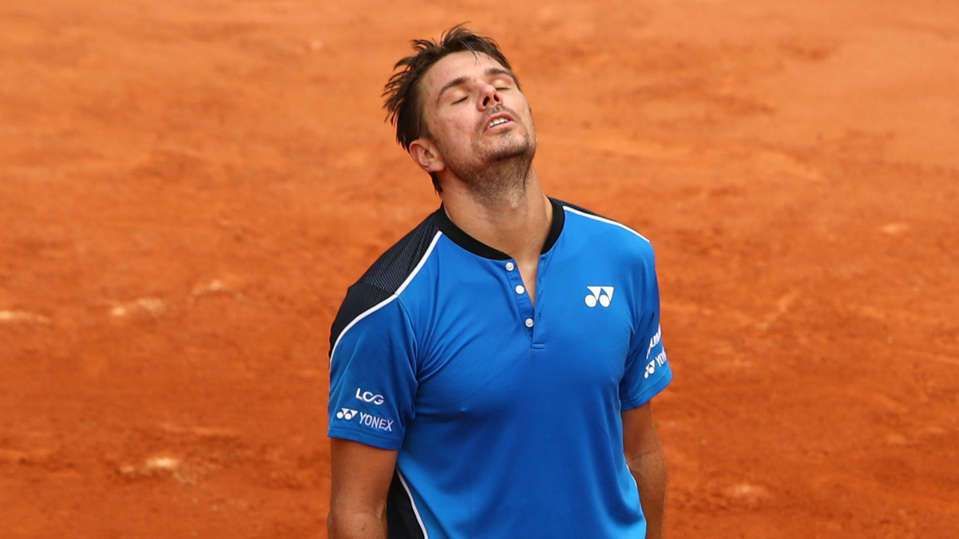 Image result for stan wawrinka french open 2018