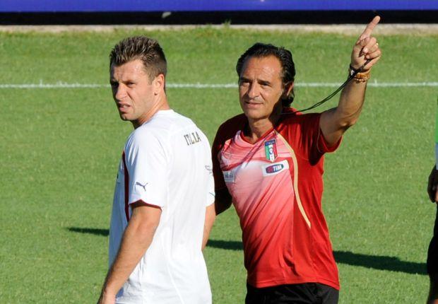Cassano should be applauded, says Prandelli