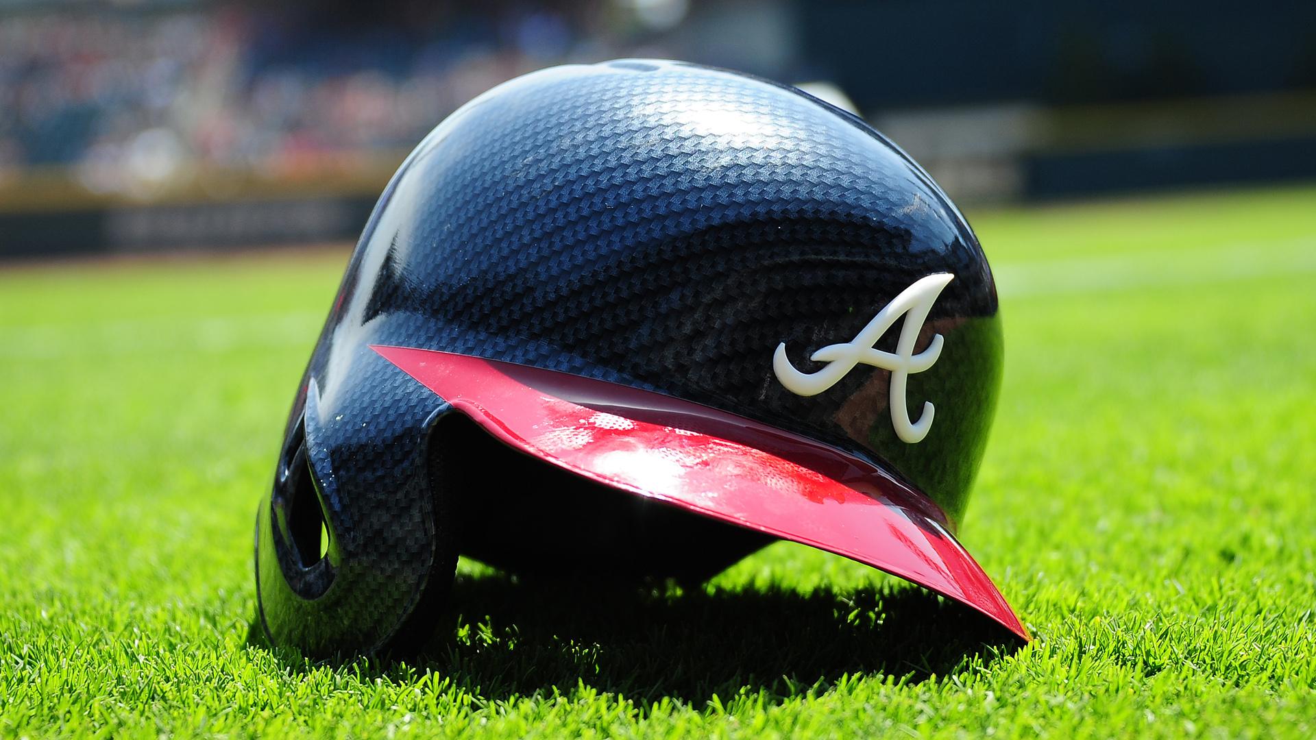Atlanta Braves helmet