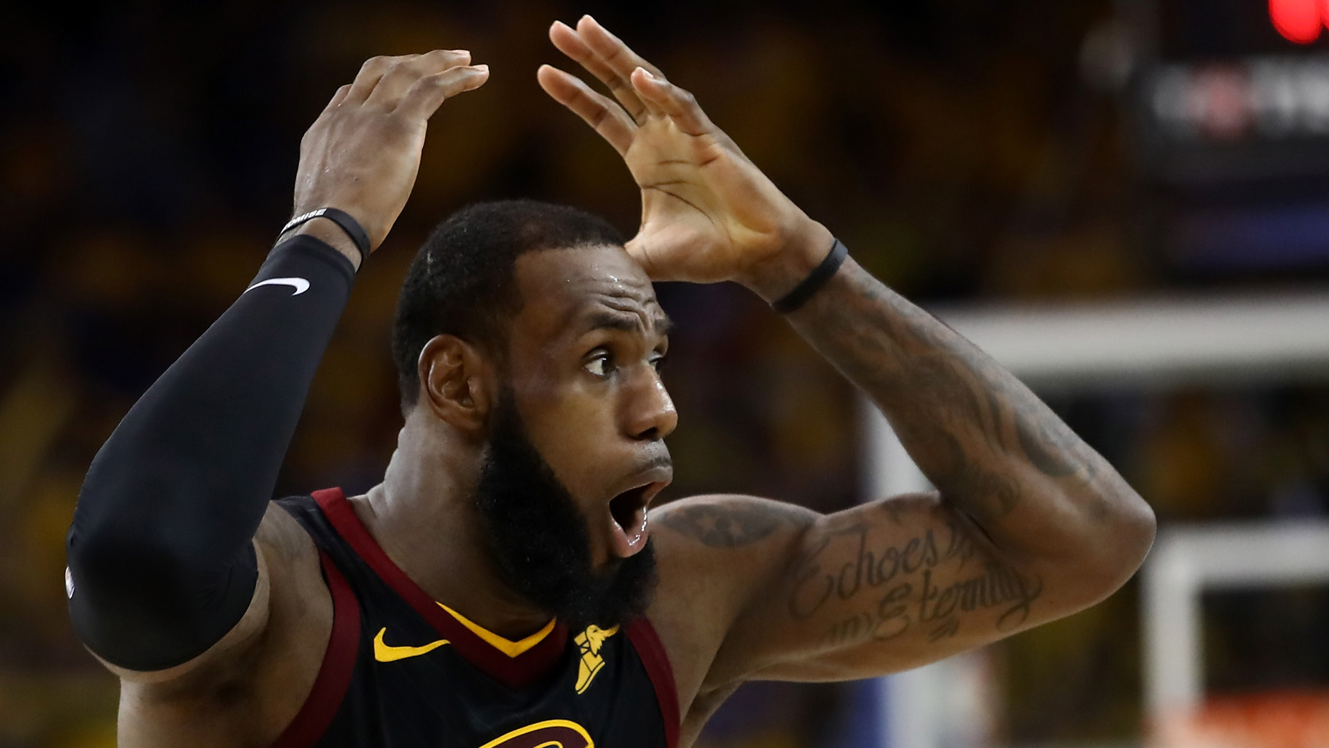 Image result for game 1 nba finals 2018