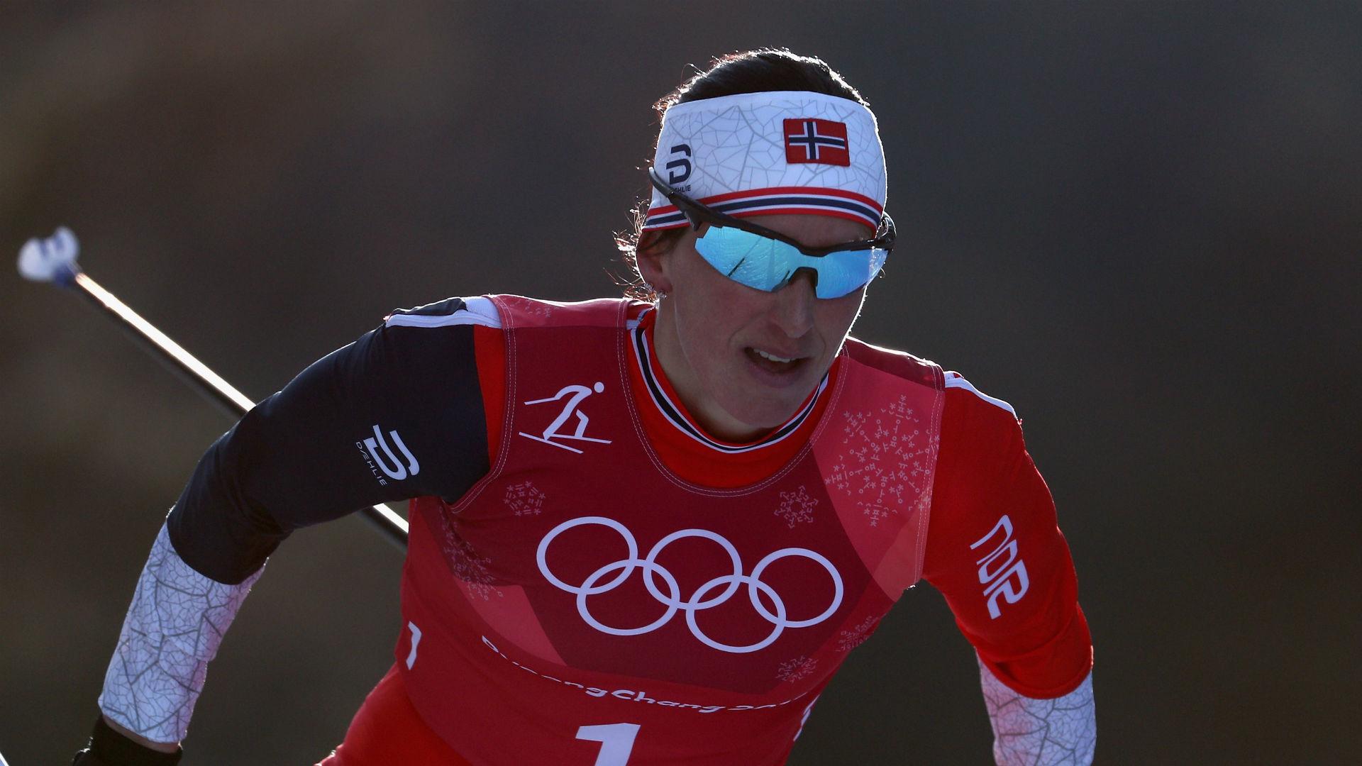 Image result for marit bjørgen 2018 olympics