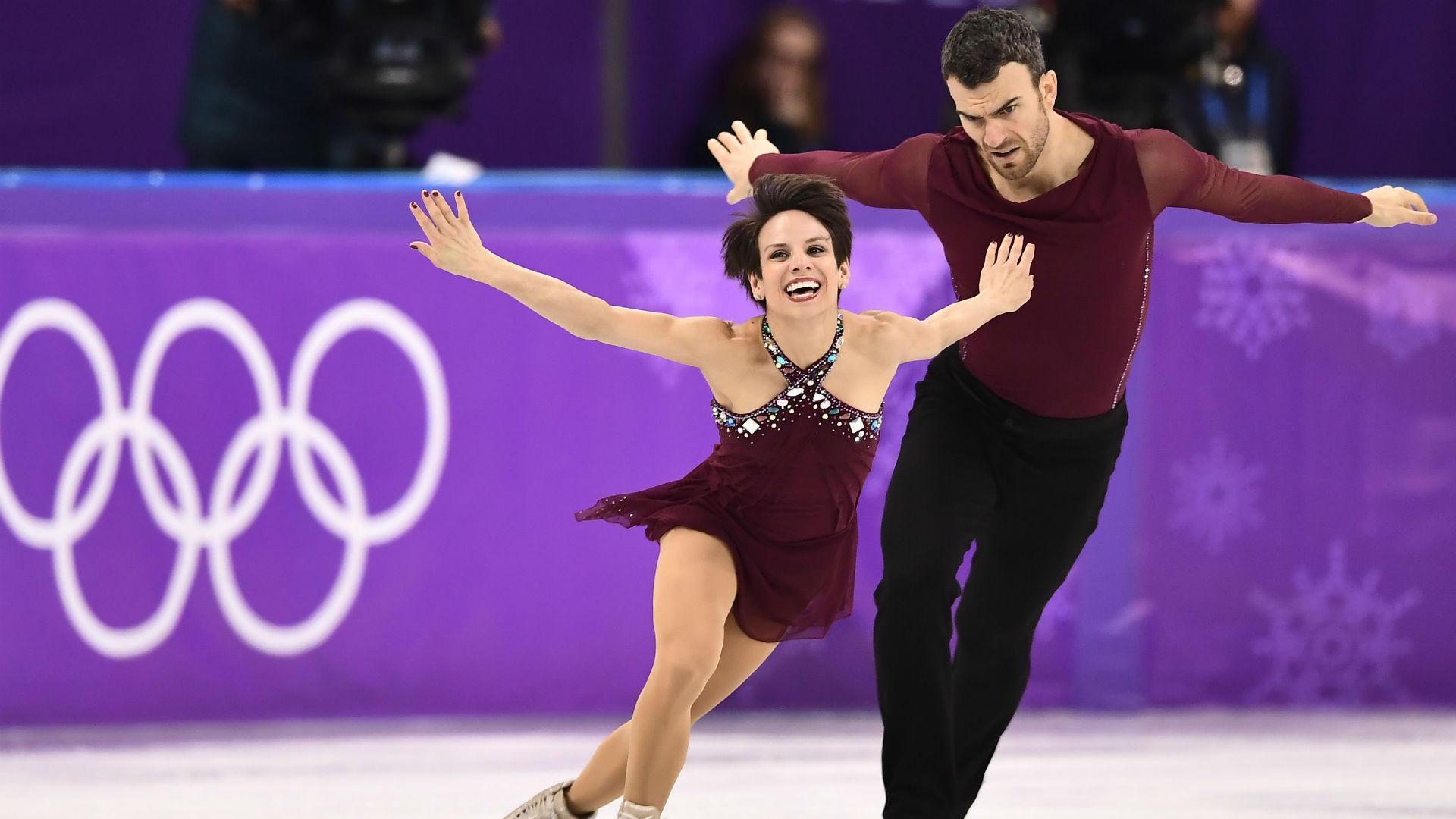 Image result for pairs figure skating olympics 2018