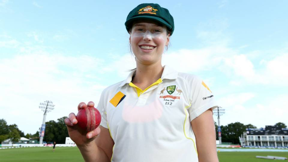 Ellyse Perry claims highest individual honour in women's ...
