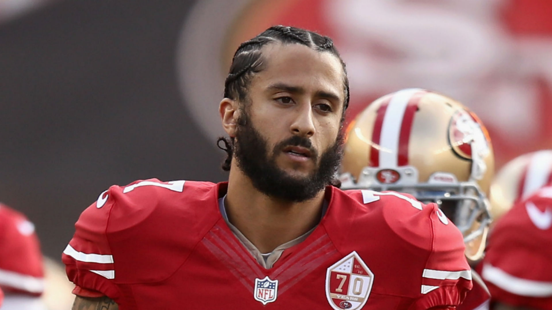 Image result for photos of Colin Kaepernick,