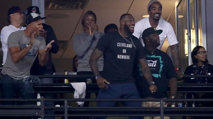 Image result for lebron world series