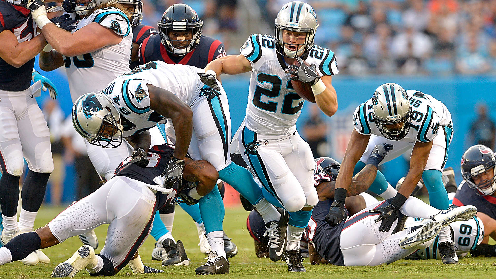 Image result for christian mccaffrey panthers