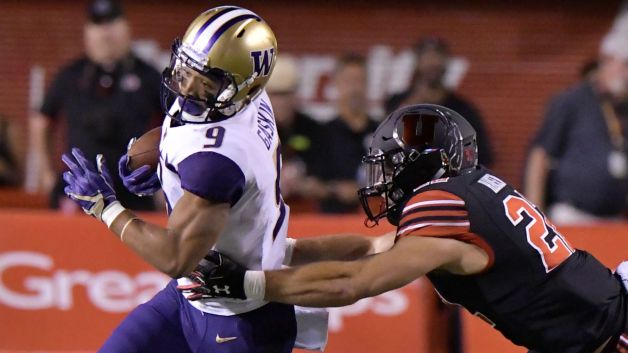 Image result for Utah Utes vs. Washington Huskies college Football