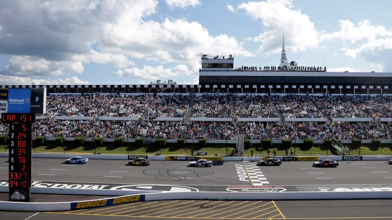 Pocono Raceway: Where turning on lights in the bathroom a proud moment   NASCAR   Sporting News
