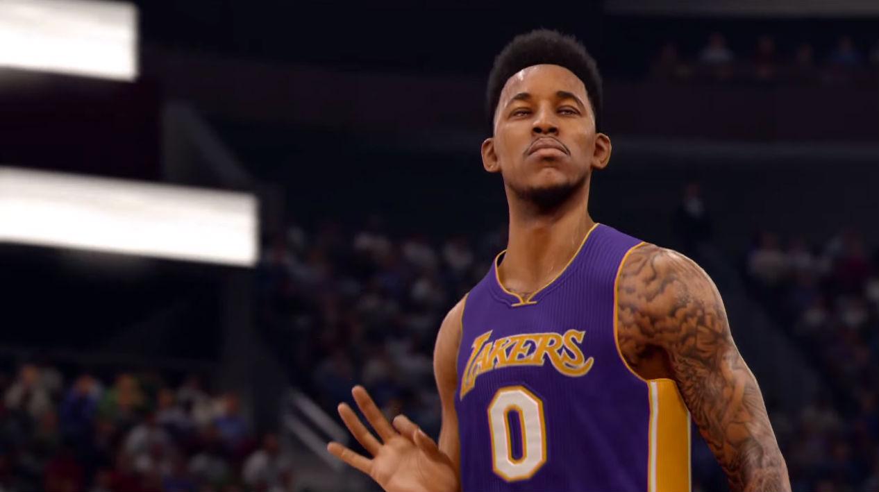 NBA Live 16 Debuts Gameplay Trailer At E3 NBA Sporting News