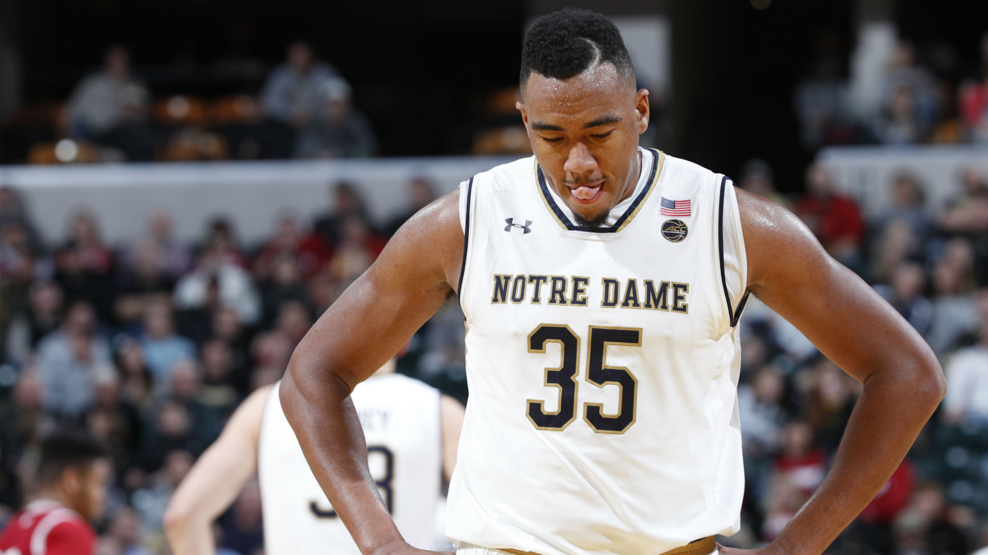 Notre Dame forward Bonzie Colson out eight weeks with ...