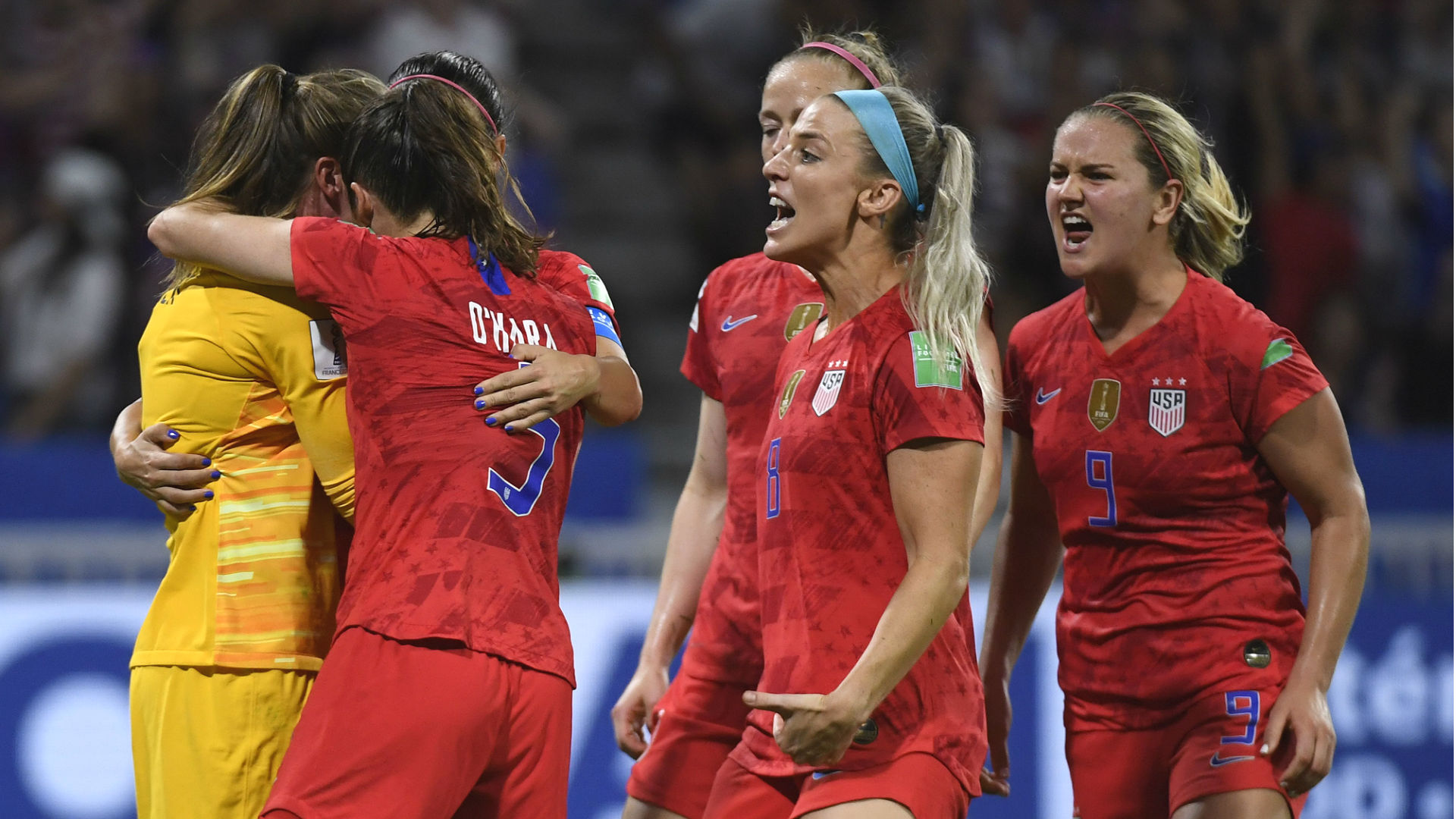 USWNT vs. England results: Alyssa Naeher's penalty save ...