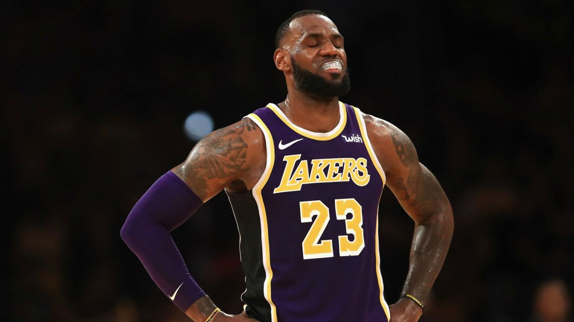 Lebron James Lakers Dealing With Four Key Problems As