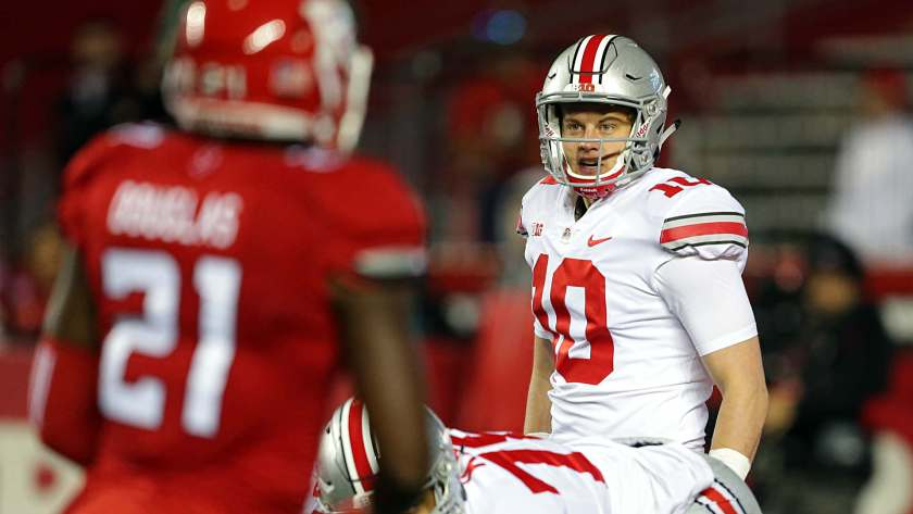 Image result for joe burrow ohio state