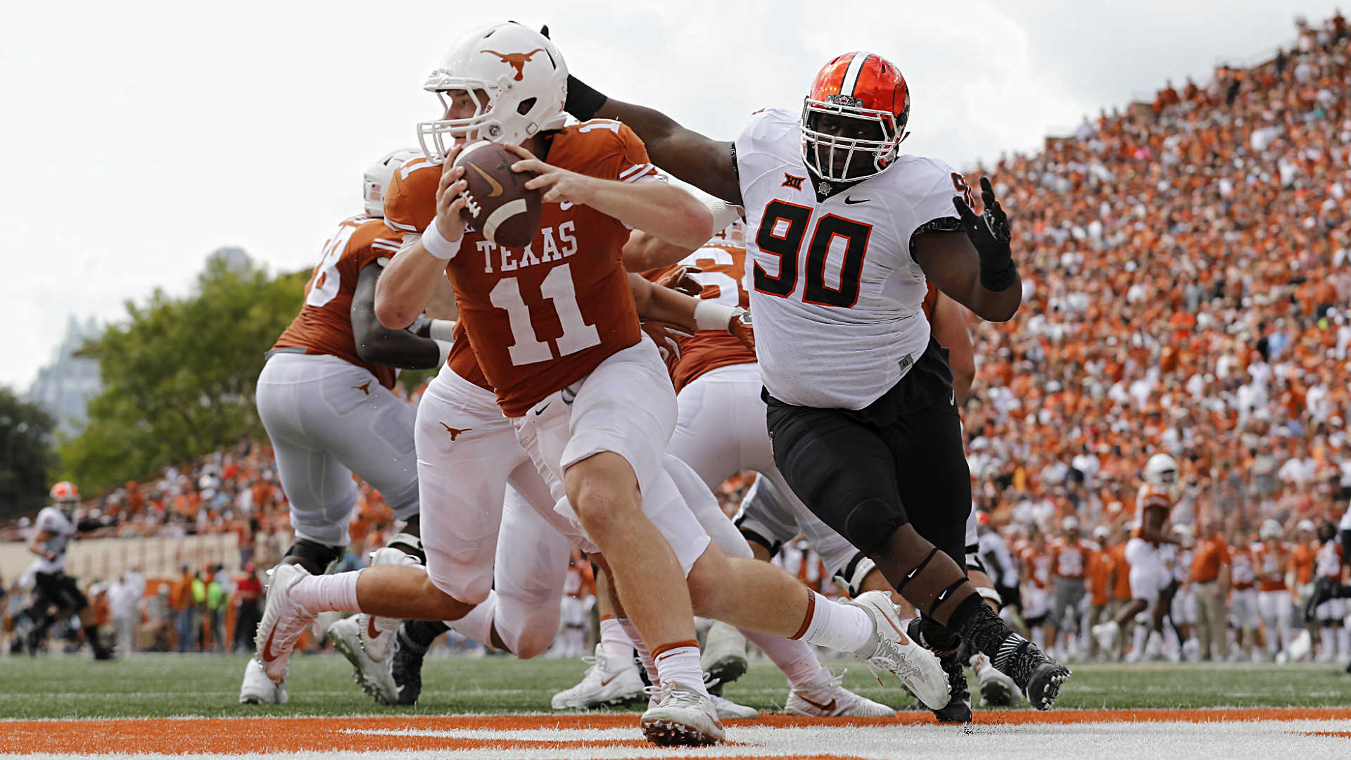 Texas' pain won't end under Tom Herman until close losses ...