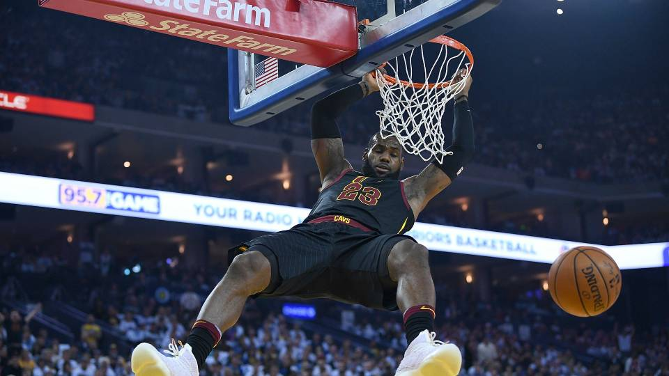 LeBron James demolishes Jusuf Nurkic with most vicious ...