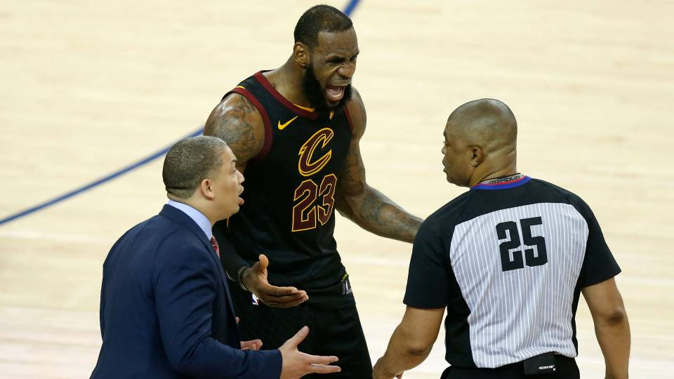 Why refs got charge-block call on LeBron James correct ...