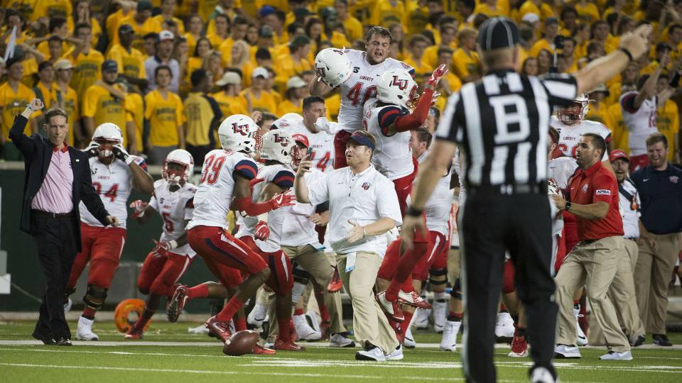 Liberty University cancels classes after stunning upset of ...