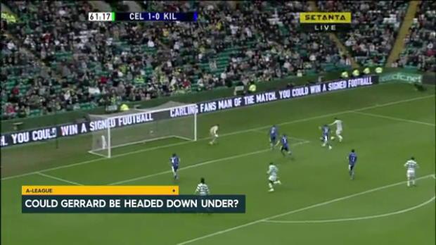 Gerrard, Keane on A-League radar?