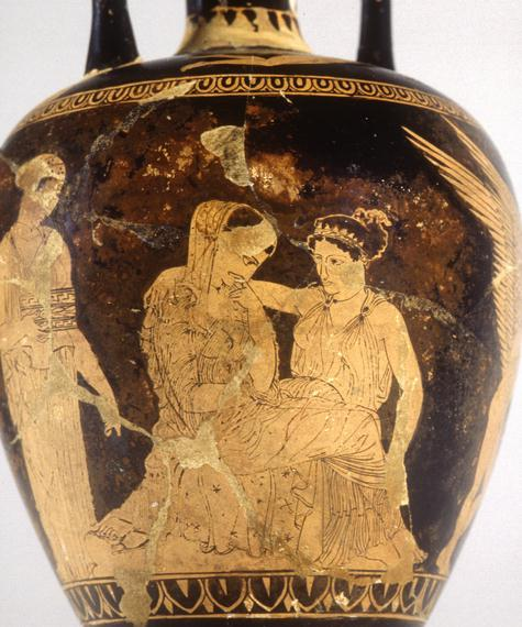 Image result for Ancient Greek Helen vase