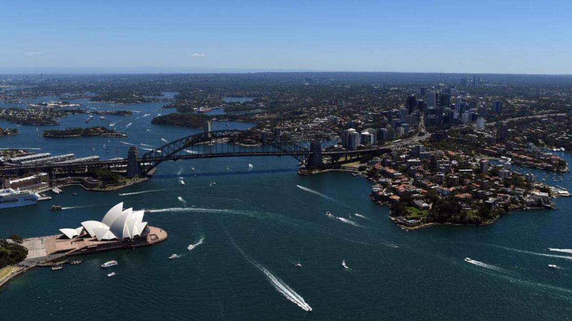 Sydney's sunshine hours and outdoor activities saw it come second.