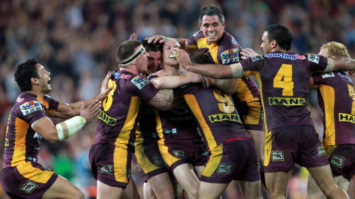 Five of Darren Lockyer's most inspiring games for the club will be streamed on Kayo.