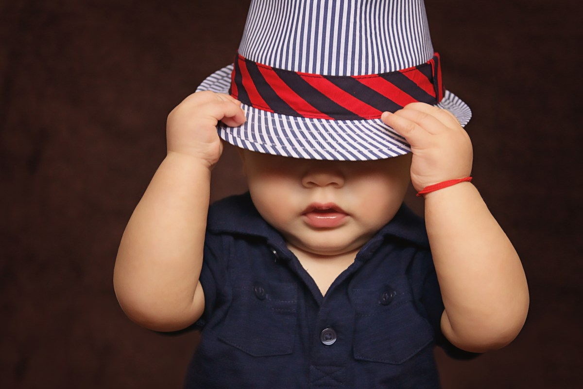 This image has an empty alt attribute; its file name is baby-boy-hat-covered-101537.jpeg