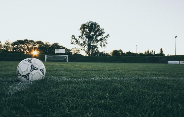 Black and White Soccer Ball on Green Grass Land during Daytime