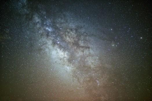 Vista del cielo nocturno