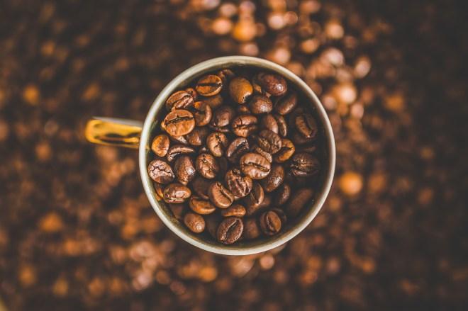 Mug of Coffee Beans