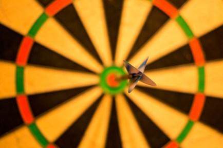 Black Dart Hit a Bullseye