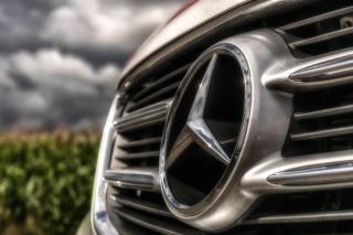 Mercedes Benz Silver Emblem