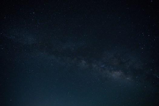 Estrellas durante la noche
