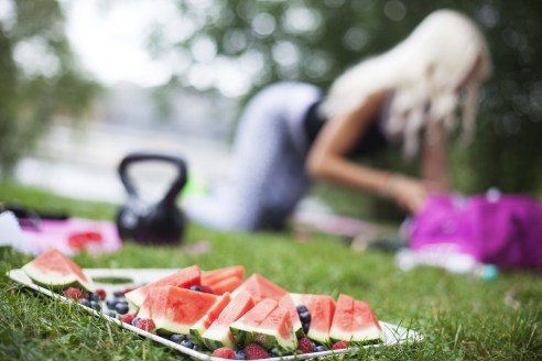 Selective Focus Photography of Watermelon