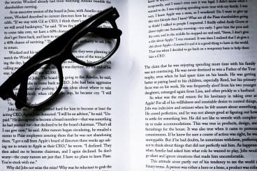 book, eyeglasses, eyewear