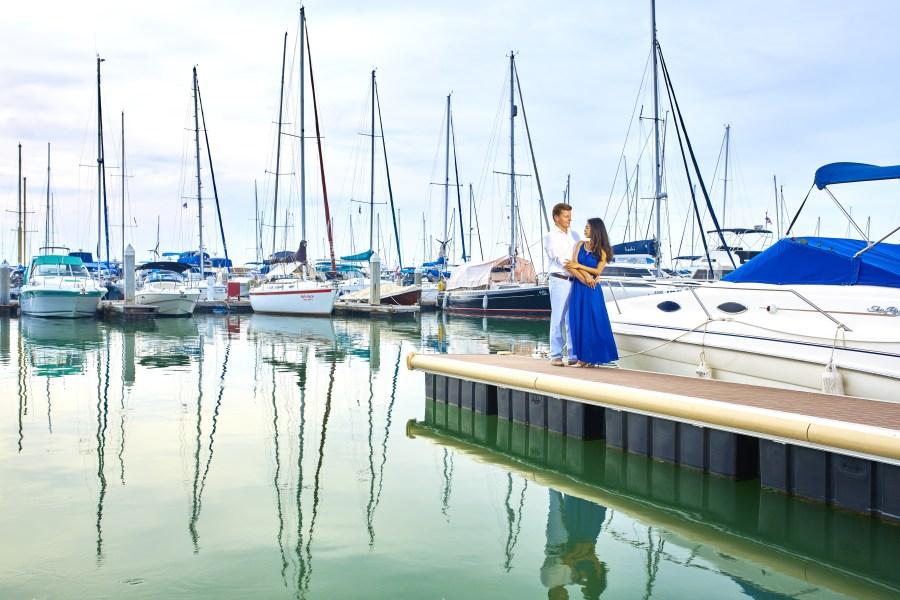 bay, blur, boat