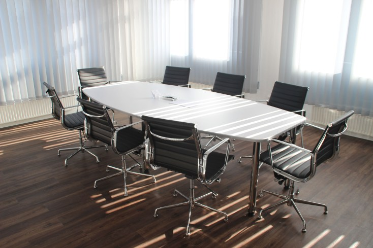 White Wooden Table With Chairs Set