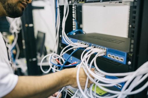 blur, computer, connection
