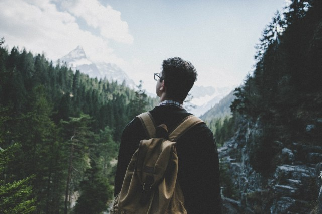 Free stock photo of landscape, nature, man, person
