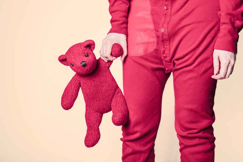 bear, child, childhood
