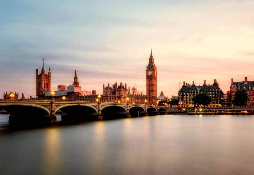 Londra şehir Manzarası