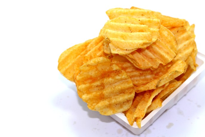 chips, crisp, crispy