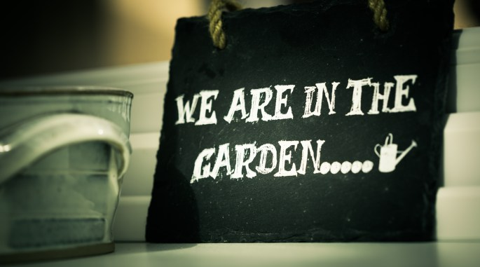 We Are in the Garden Sigange
