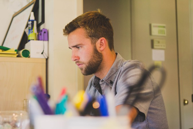 Free stock photo of person, office, student, work