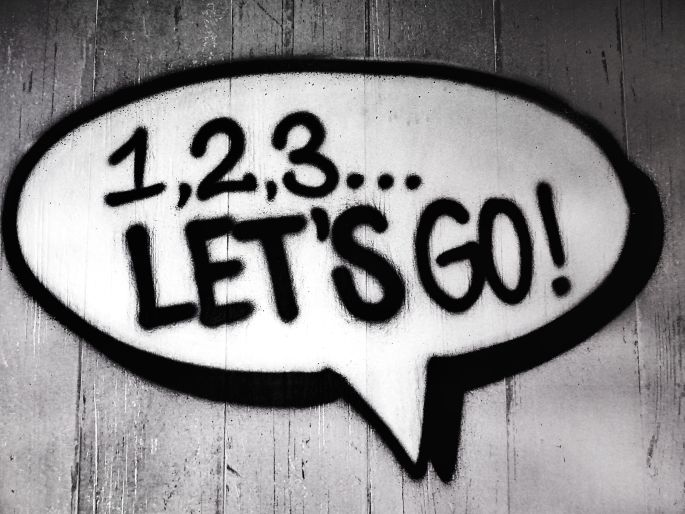 123 Let's Go Imaginary Text