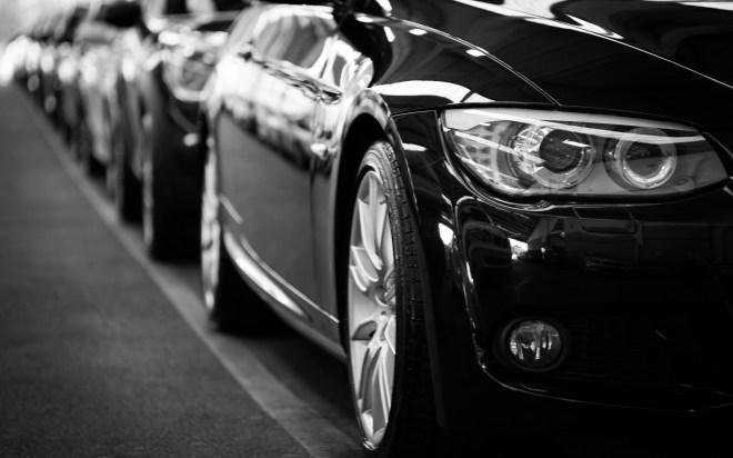 automobiles, automotives, black and white