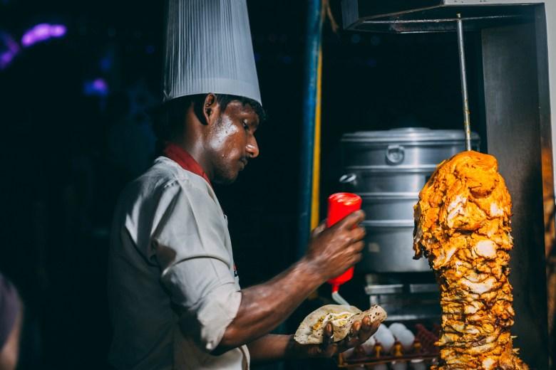 Man Making Food